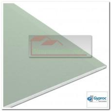 Гипсокартон (аква-оптима) Gyproc, 2500х1200х12 мм.